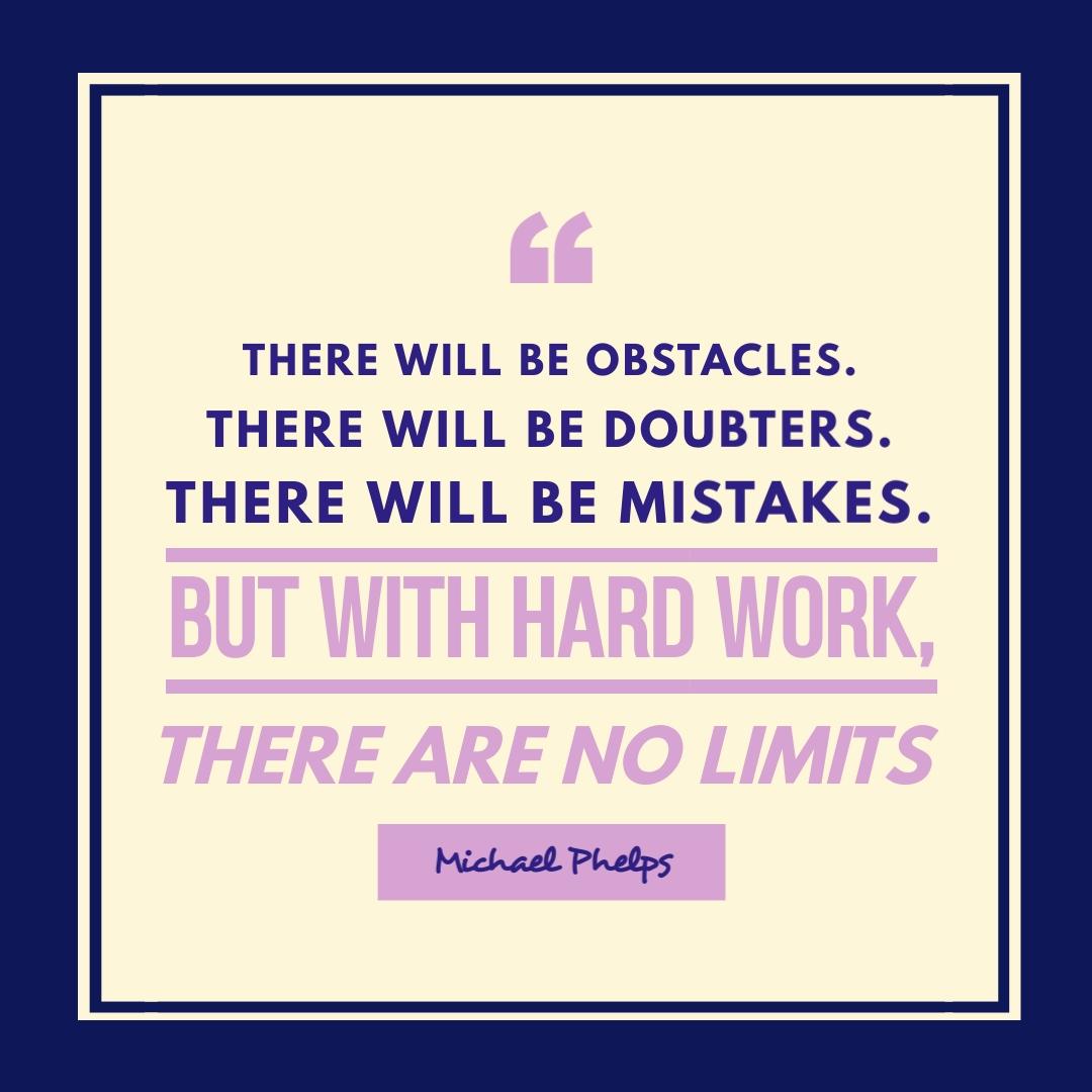 Hard Work Quote - Instagram Post Template