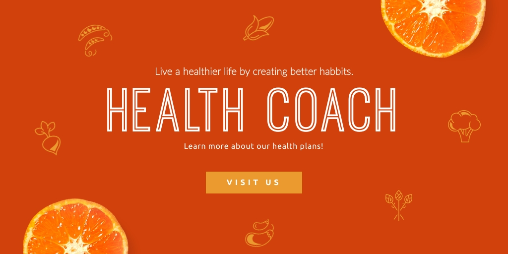 Health Coach Twitter Ad  Template