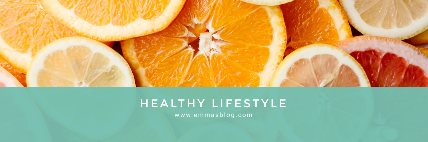Healthy Lifestyle Twitter Header Template