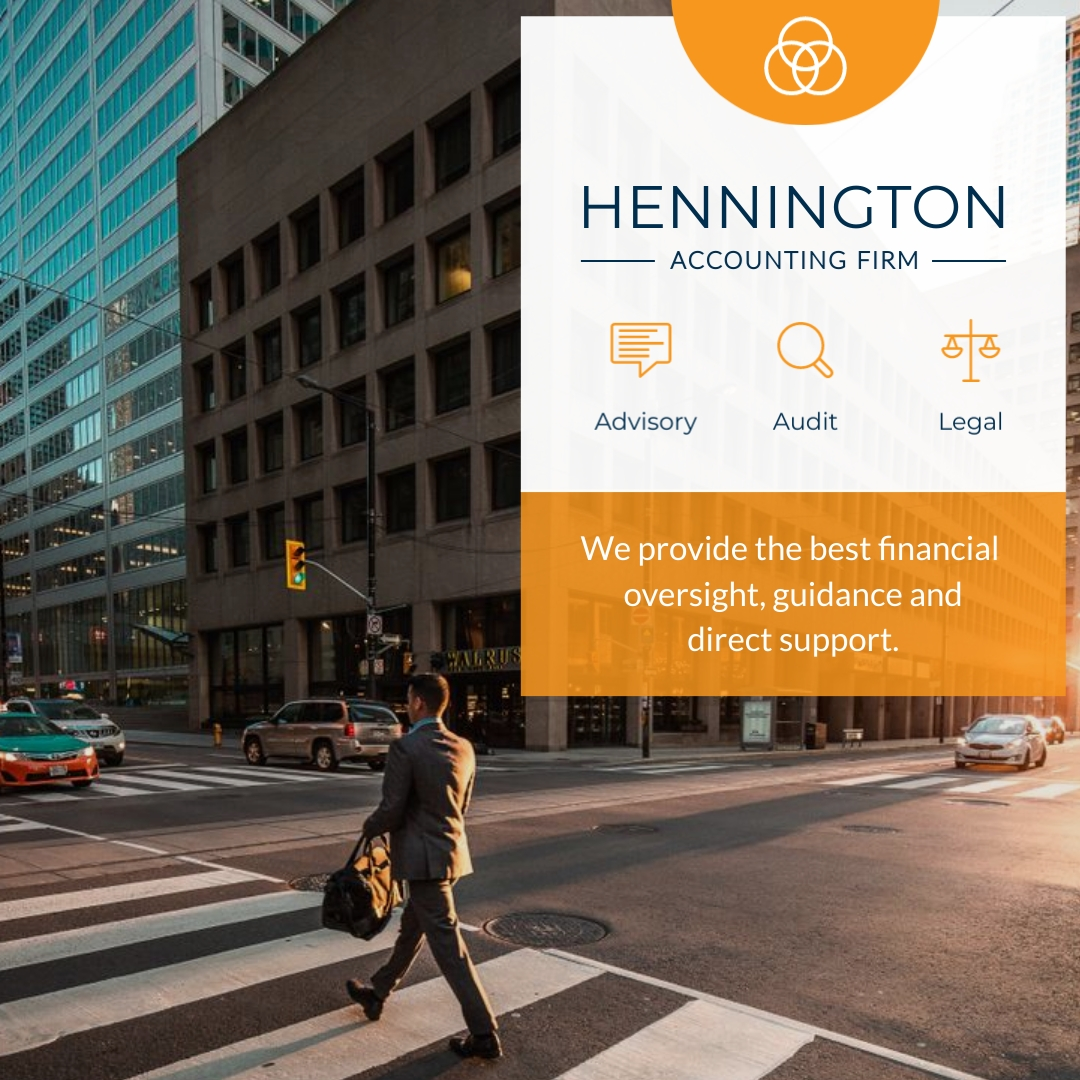 Hennington Accounting Firm Animated Square Template