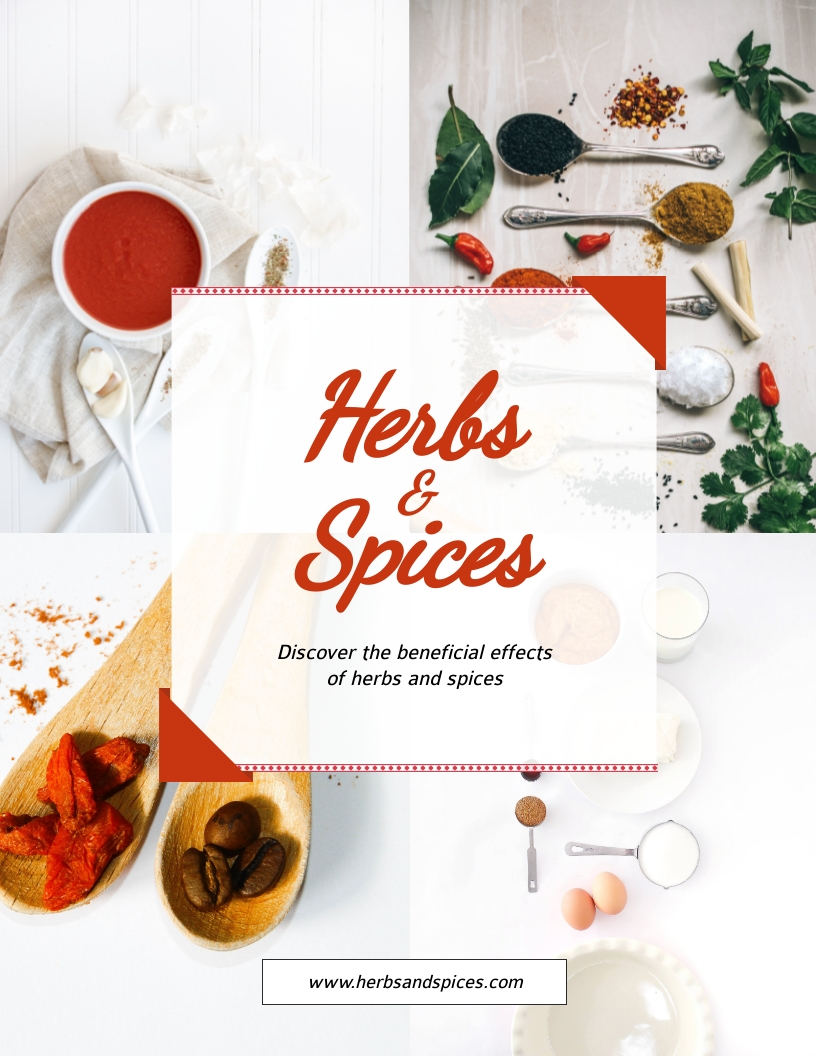 Herbs and Spices - Flyer Template