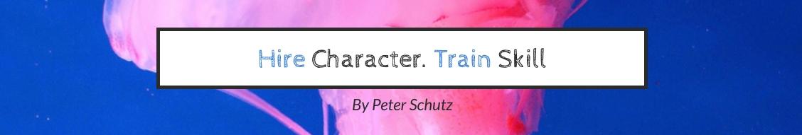 Hire Character LinkedIn Header Template