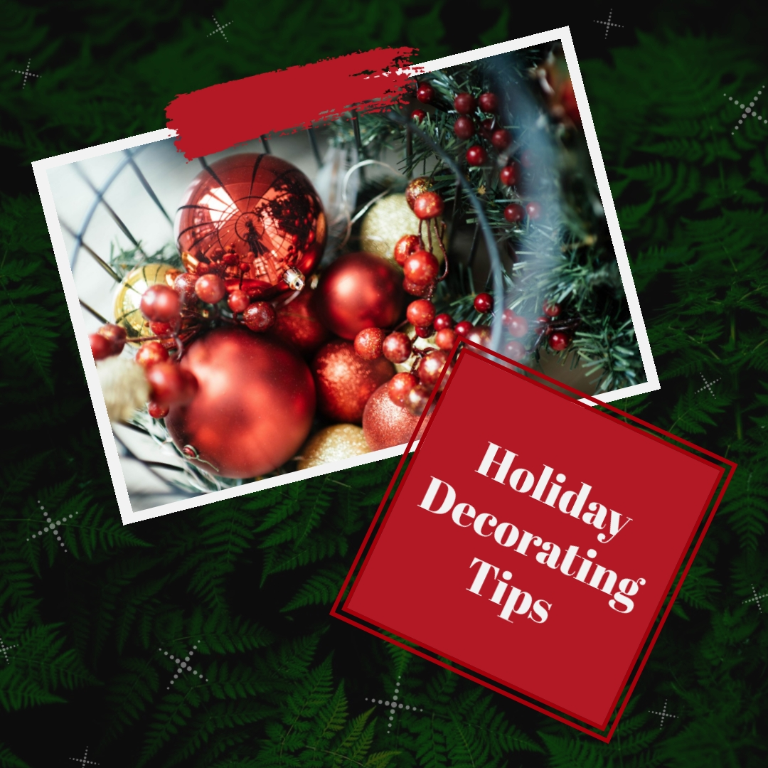 Holiday Decorating Tips Animated Square Template