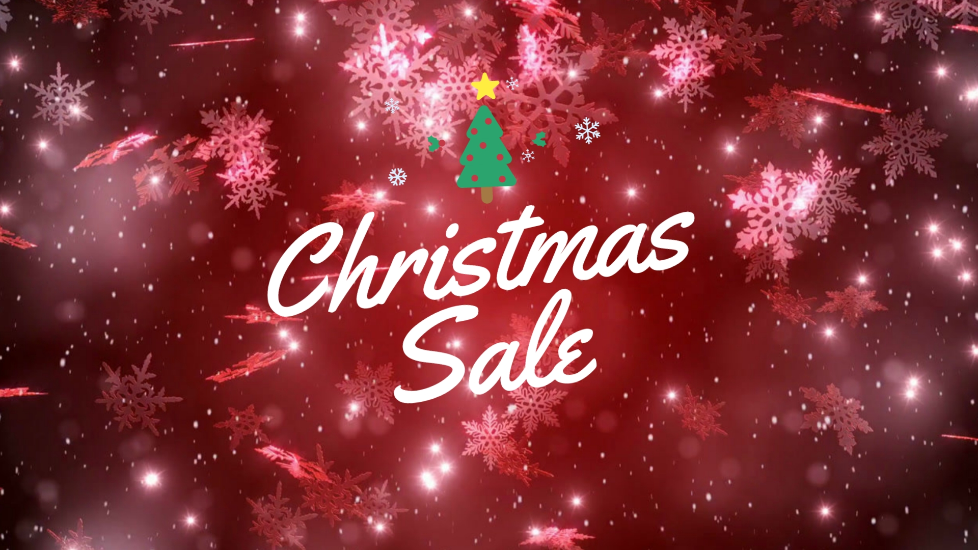 Holiday Sale Facebook Video Ad Template