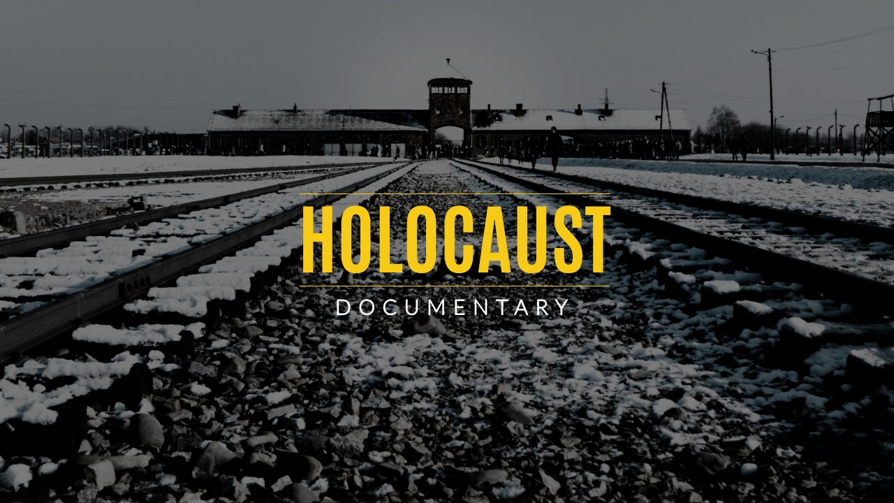 Holocaust Documentary Youtube Video Cover Template
