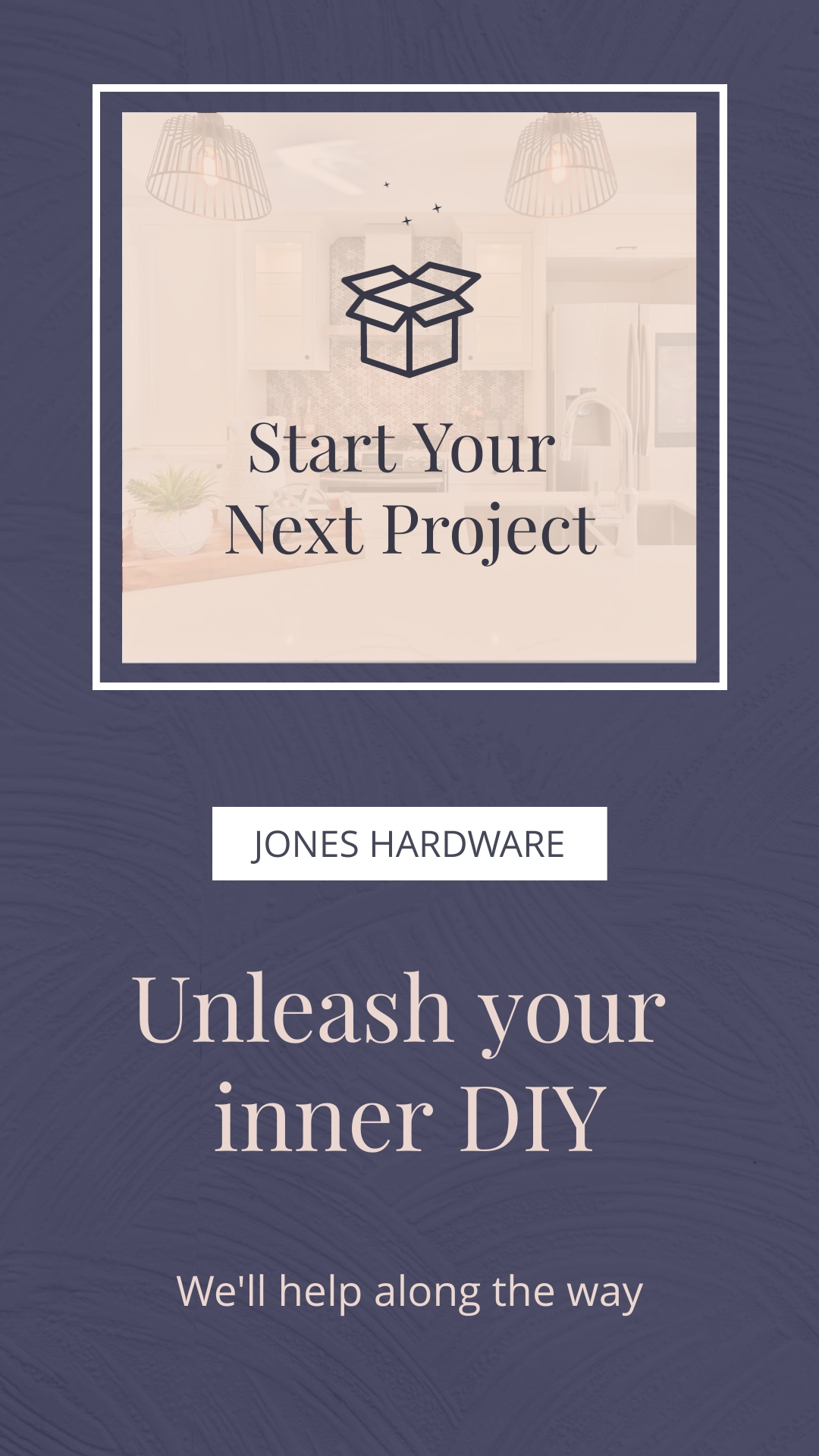 Home Improvements Store Bite-Sized Ad Vertical Template