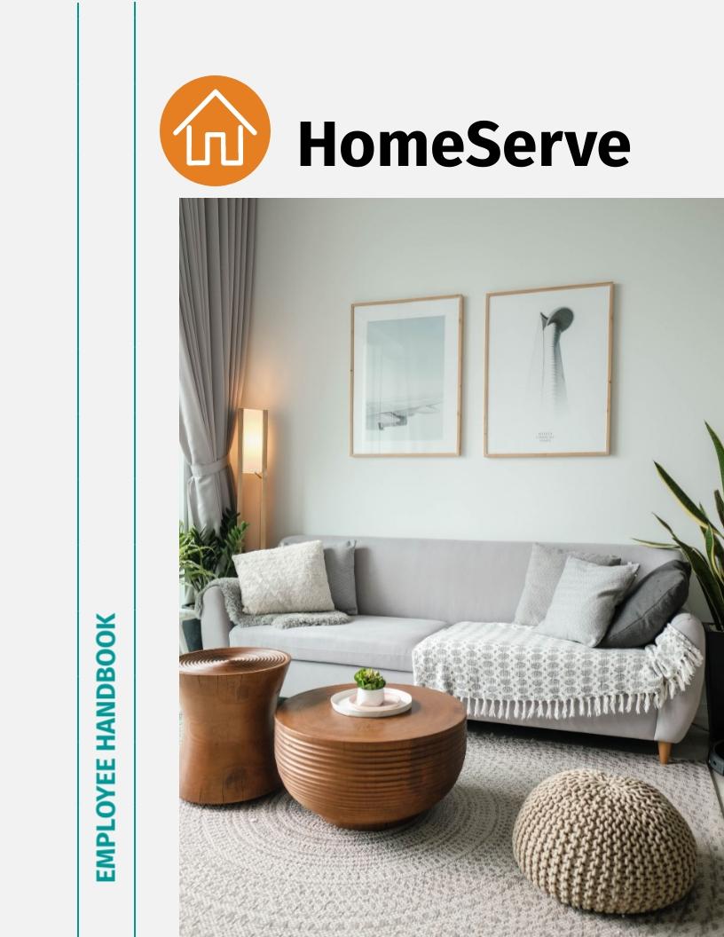 HomeServe Employee Handbook Template