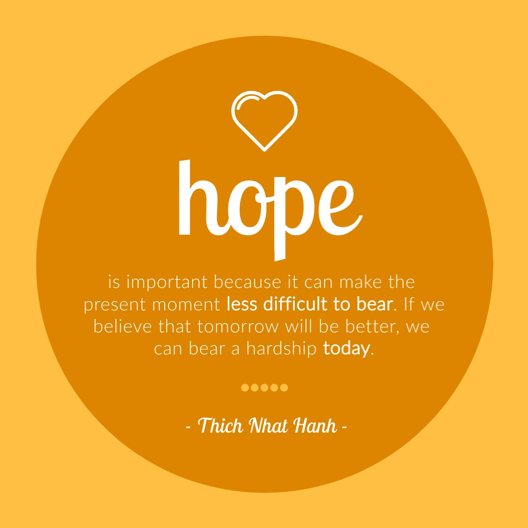 Hope Quote - Instagram Post Template