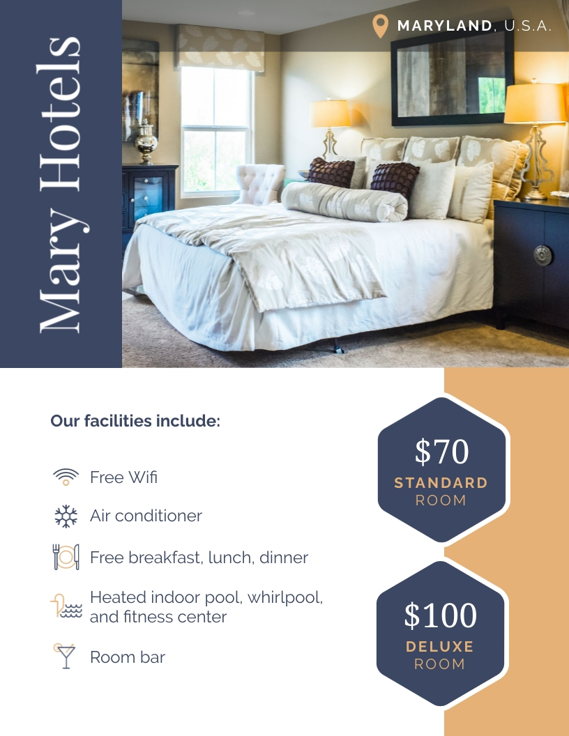 Hotel Ad Flyer Template