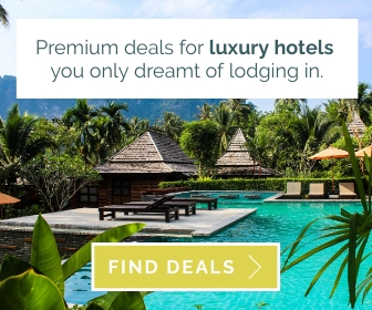 Hotel Booking Large Rectangle Template