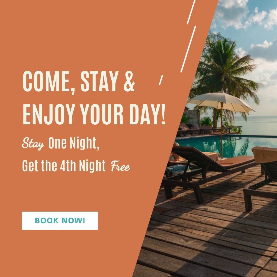 Hotel Stays Bite-Sized Ad Square Template