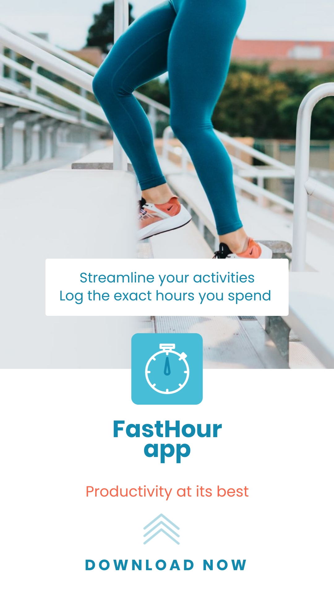 Hour Tracking App - Instagram Video Ad Template