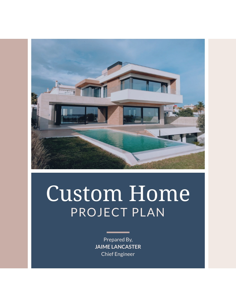 House Engineering - Project Plan Template