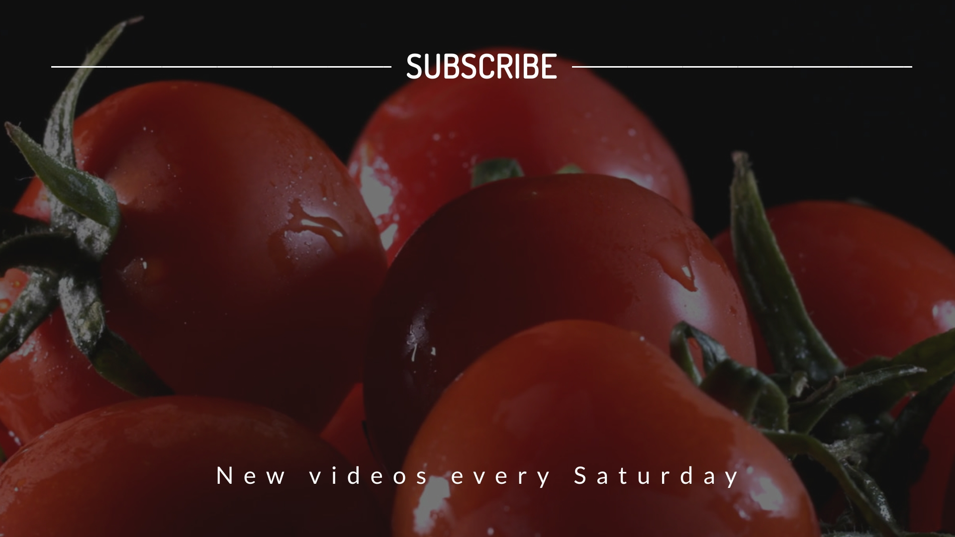 How to Keep Tomatoes Fresh Video Outro Template