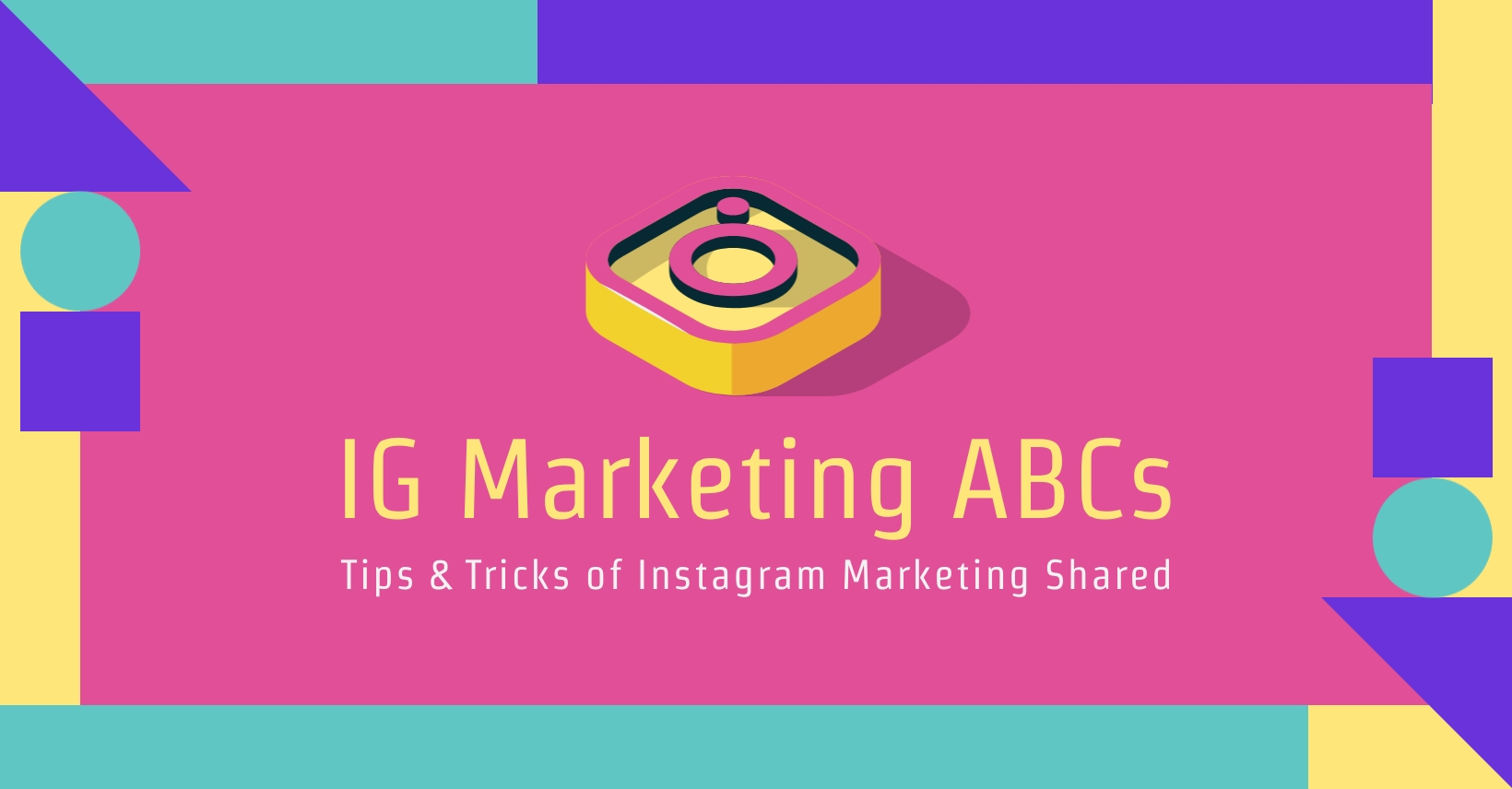 IG Marketing Discussion Facebook Group Cover Template