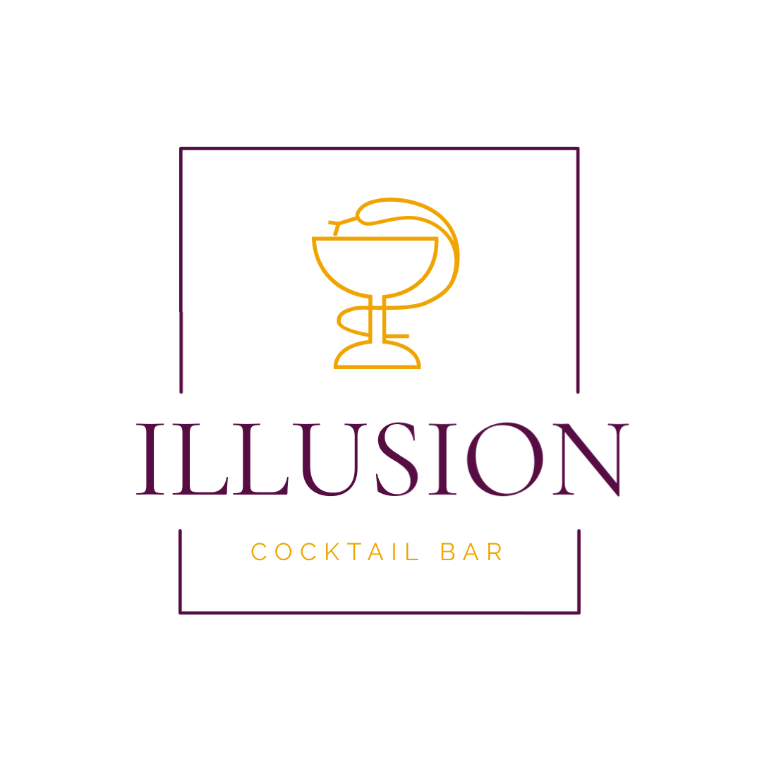 Illusion Cocktail Bar - Logo Template
