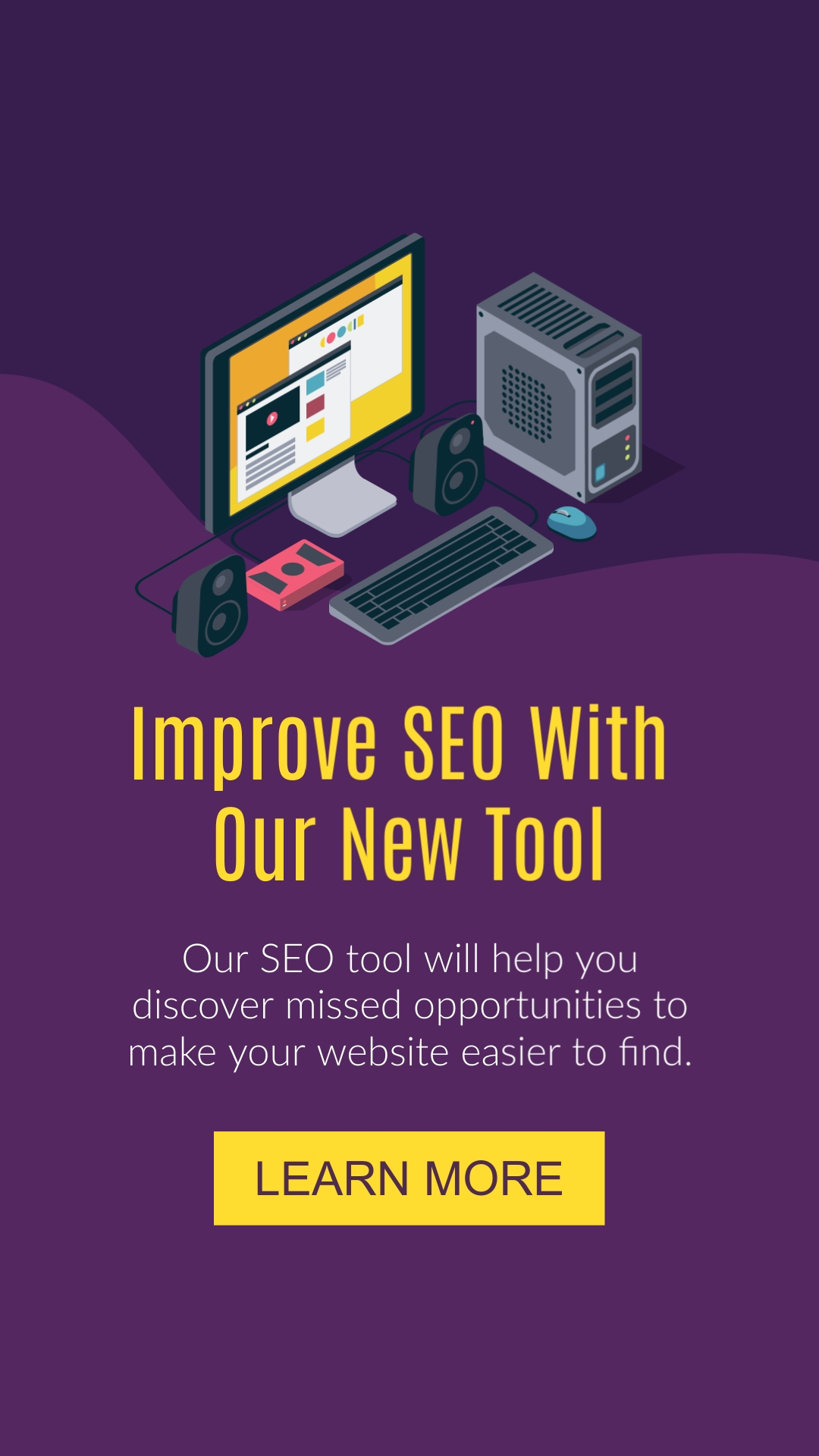 Improve SEO With New Tool Vertical Template