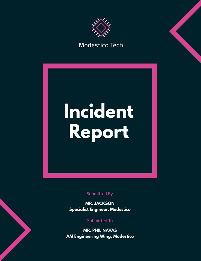 Incident - Report Template