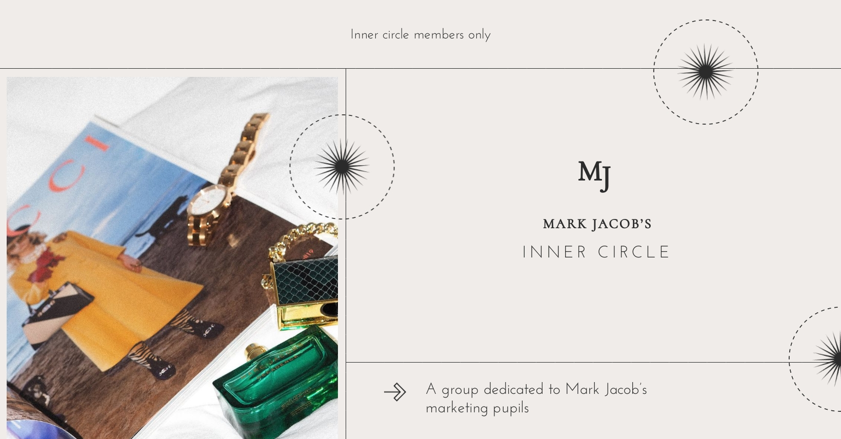 Inner Circle Facebook Group Cover Template