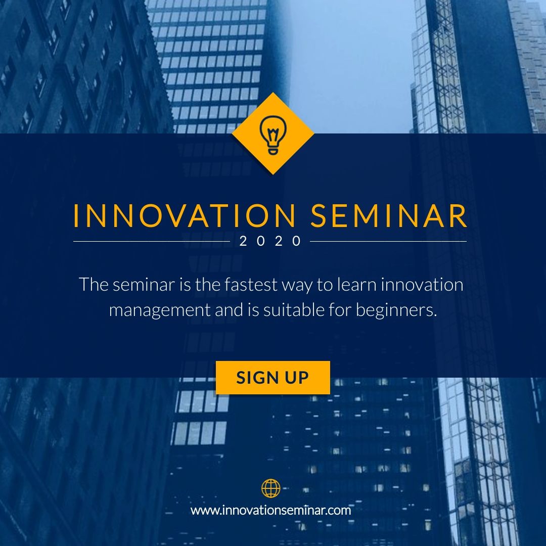 Innovation Seminar Animated Square  Template