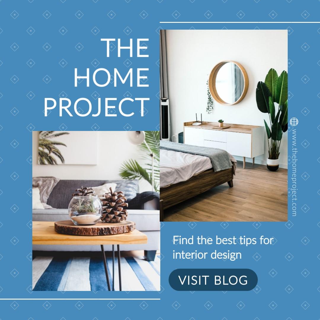 Interior Design Blog Animated Square Template