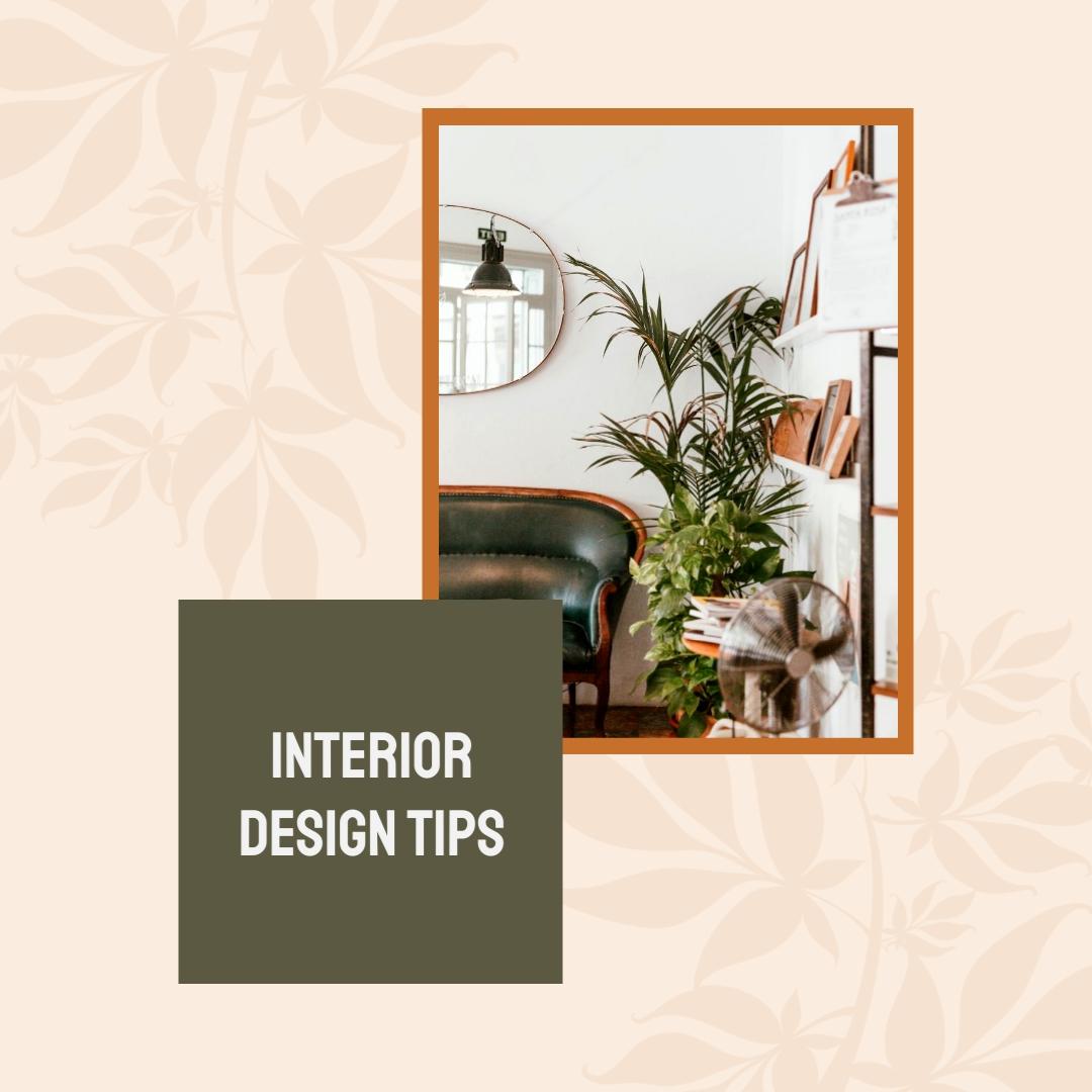 Interior Design Tips Animated Square Template