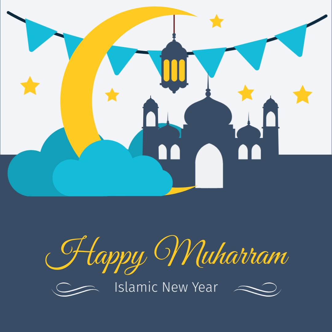 Islamic New Year Animated Square Template