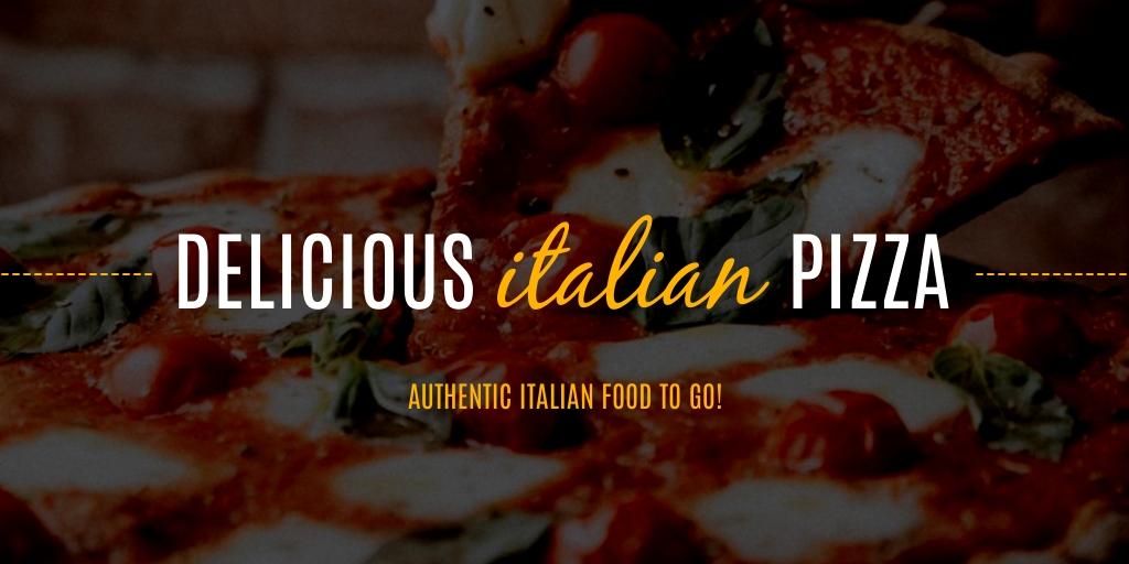 Italian Restaurant - Website Header Template