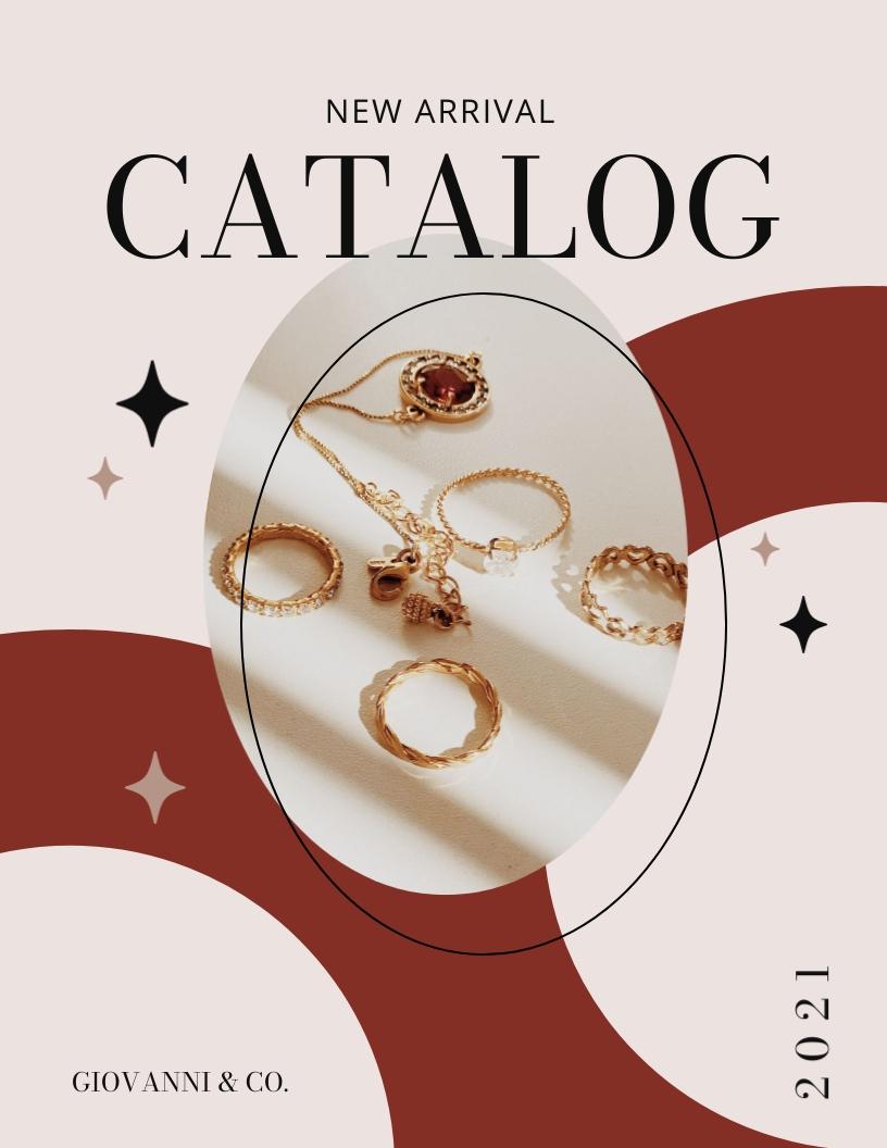 Jewelry Catalog Template