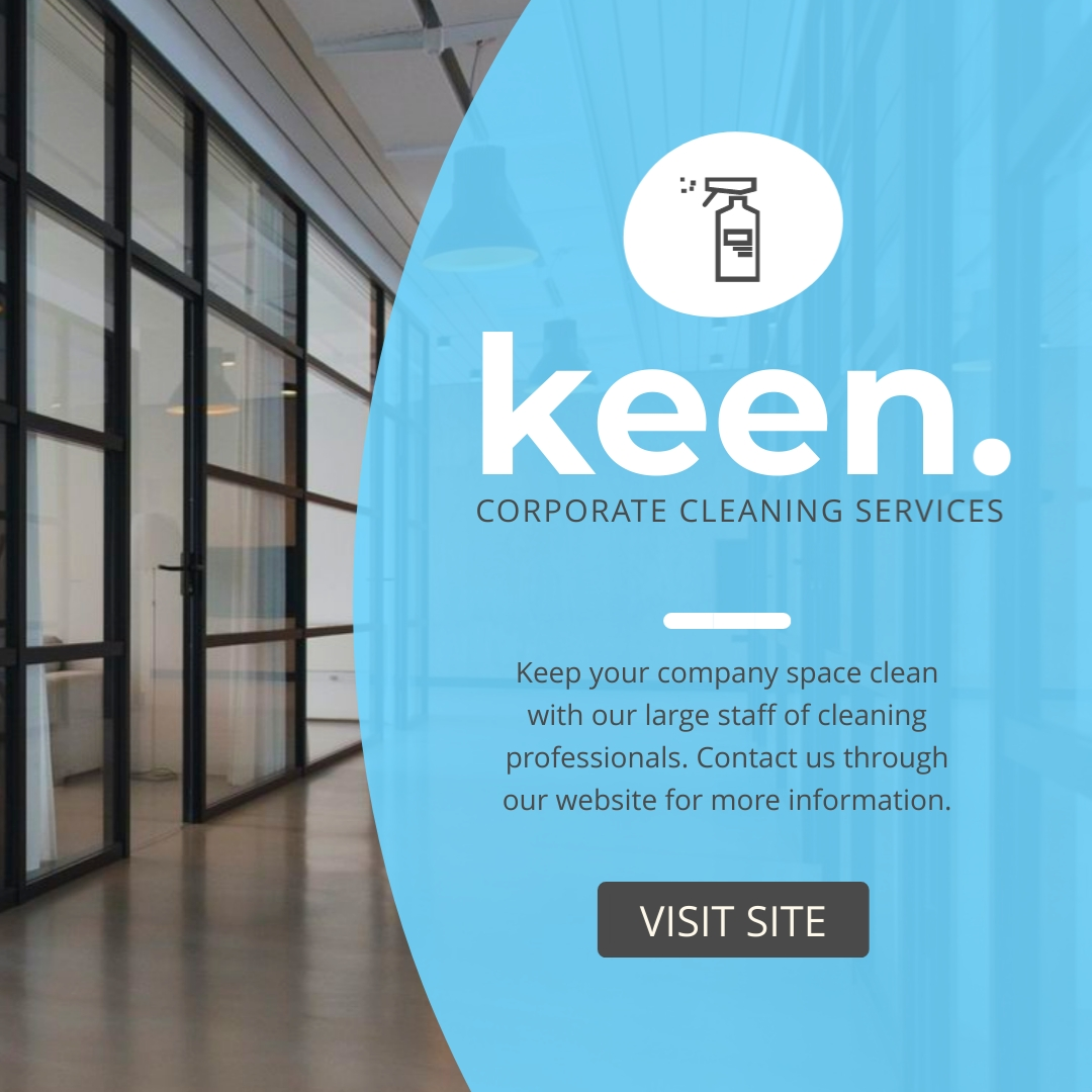 Keen Cleaning Services - Instagram Post Template