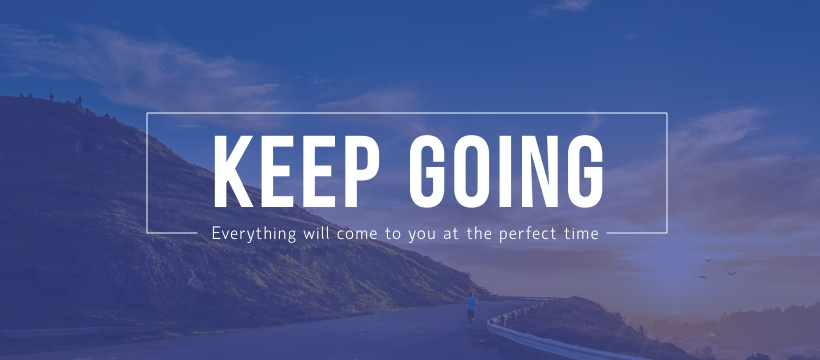 Keep Going Facebook Page Template