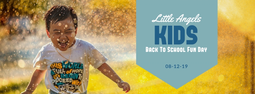 Kids Back to School Fun Day Facebook Cover Template