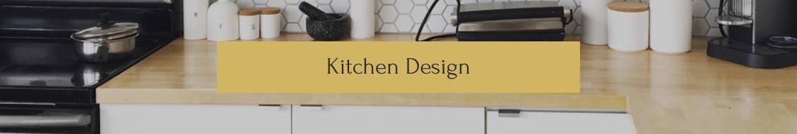 Kitchen Design LinkedIn Header Template