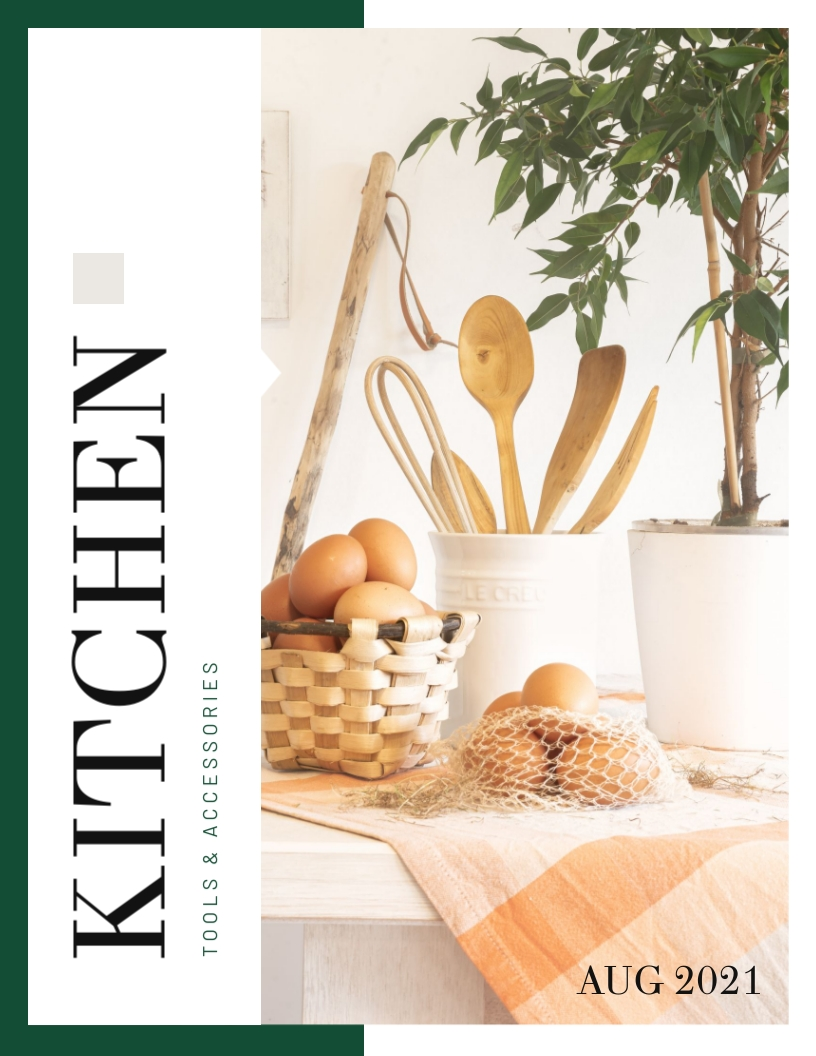 Kitchen Product Catalog Template