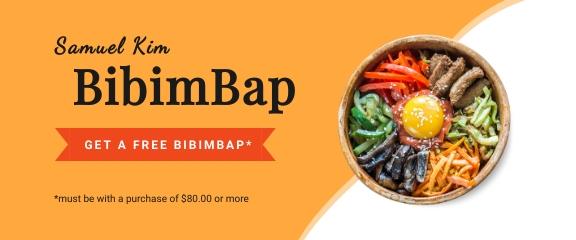 Korean Food - Coupon Template