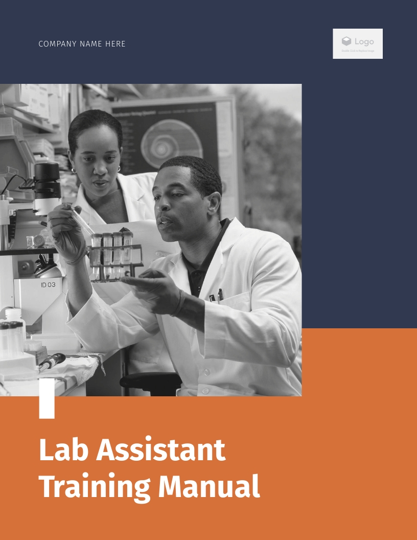 Lab Assistance - Training Manual  Template