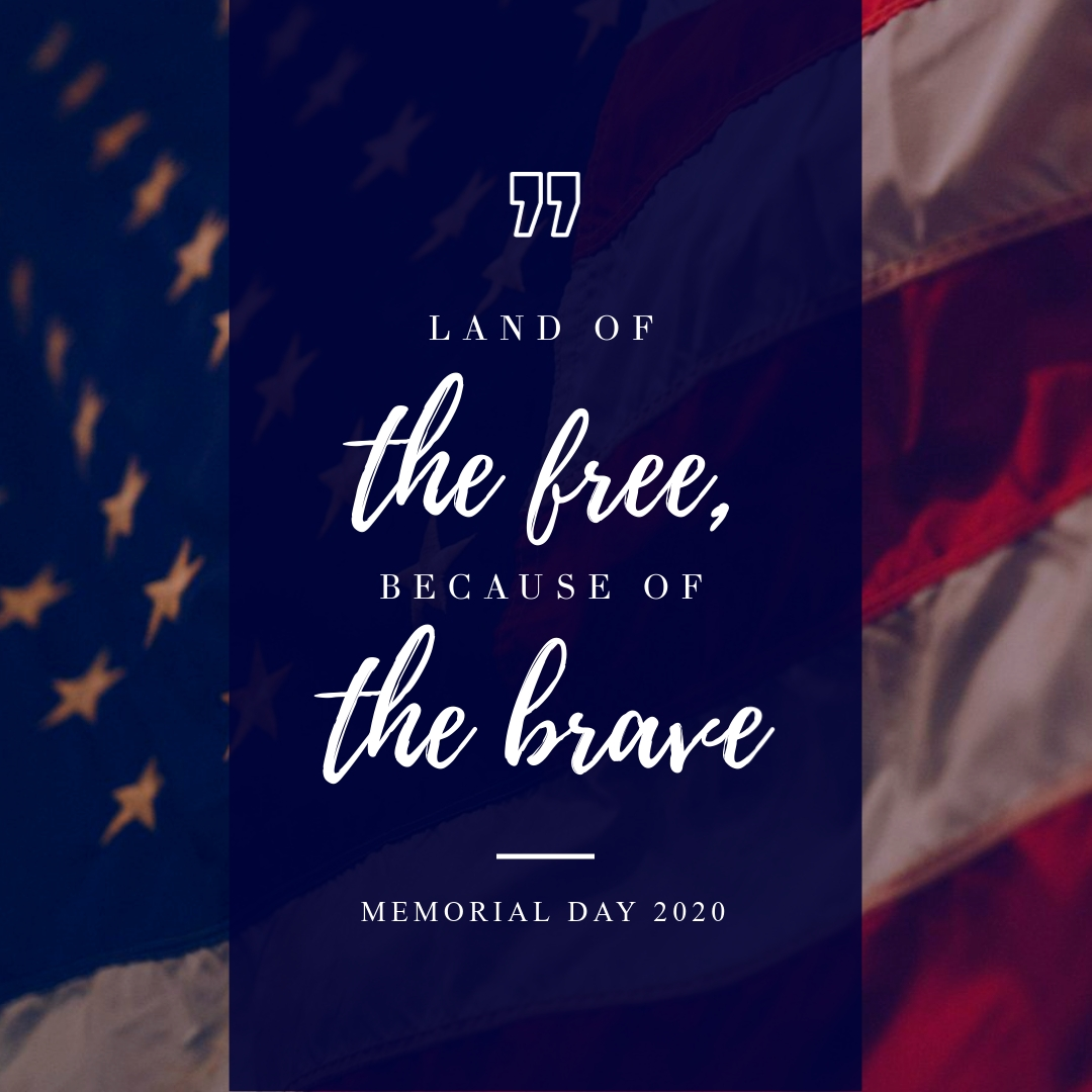 Land of the Free Quote Animated Square Template