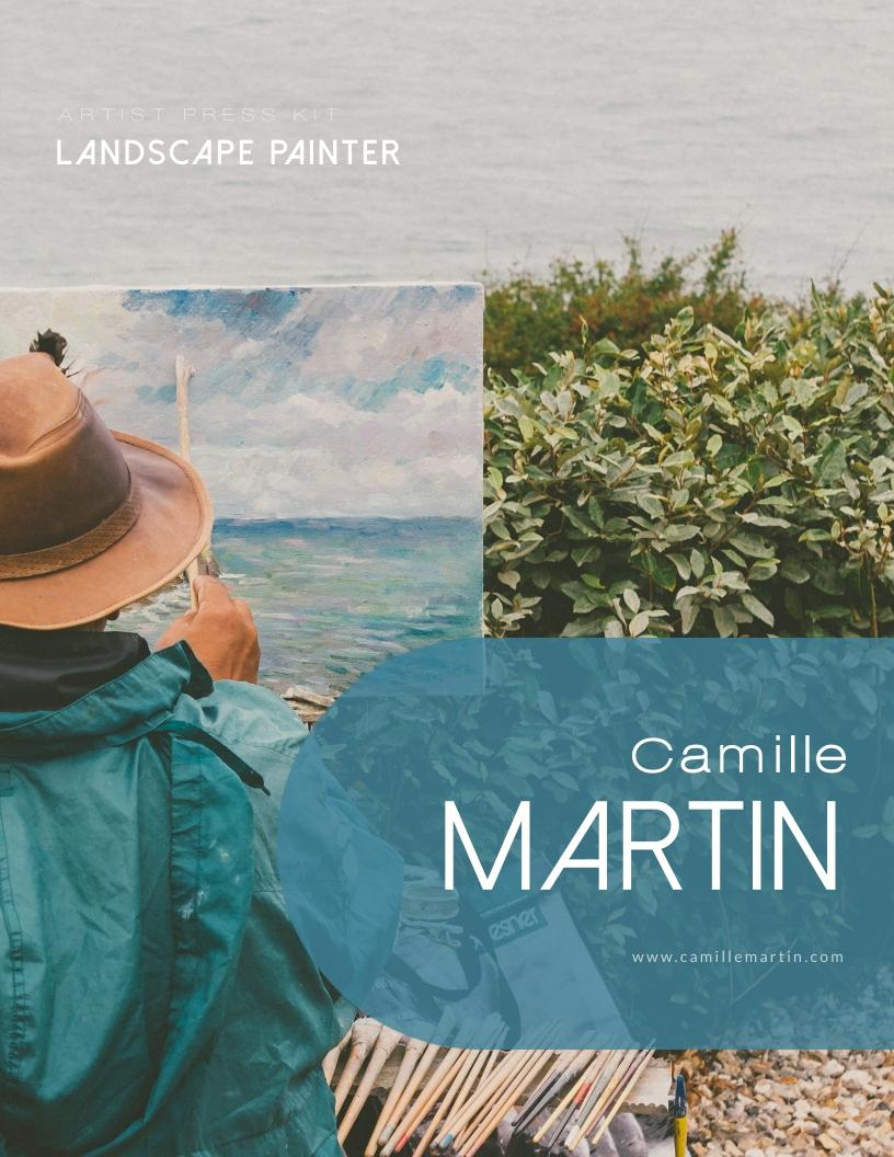 Landscape Painter - Press Kit Template