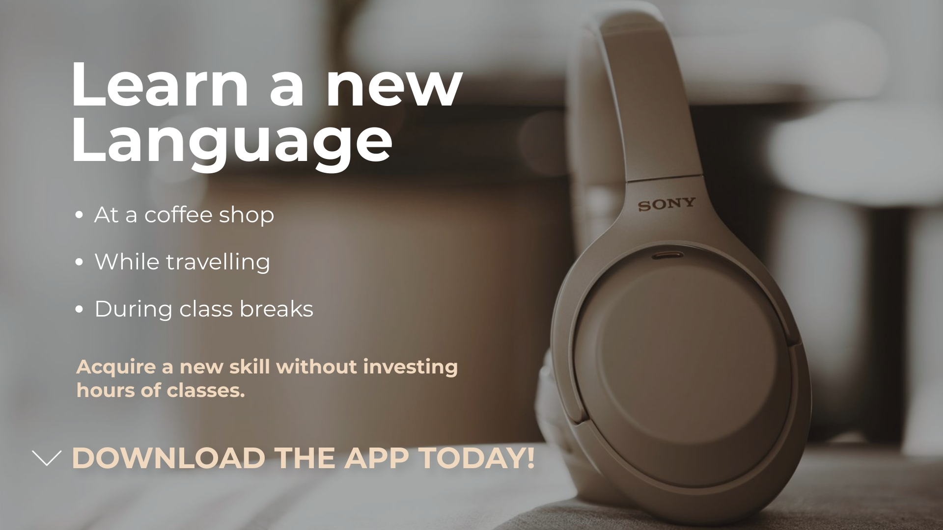 Language App - YouTube Video Ad Template