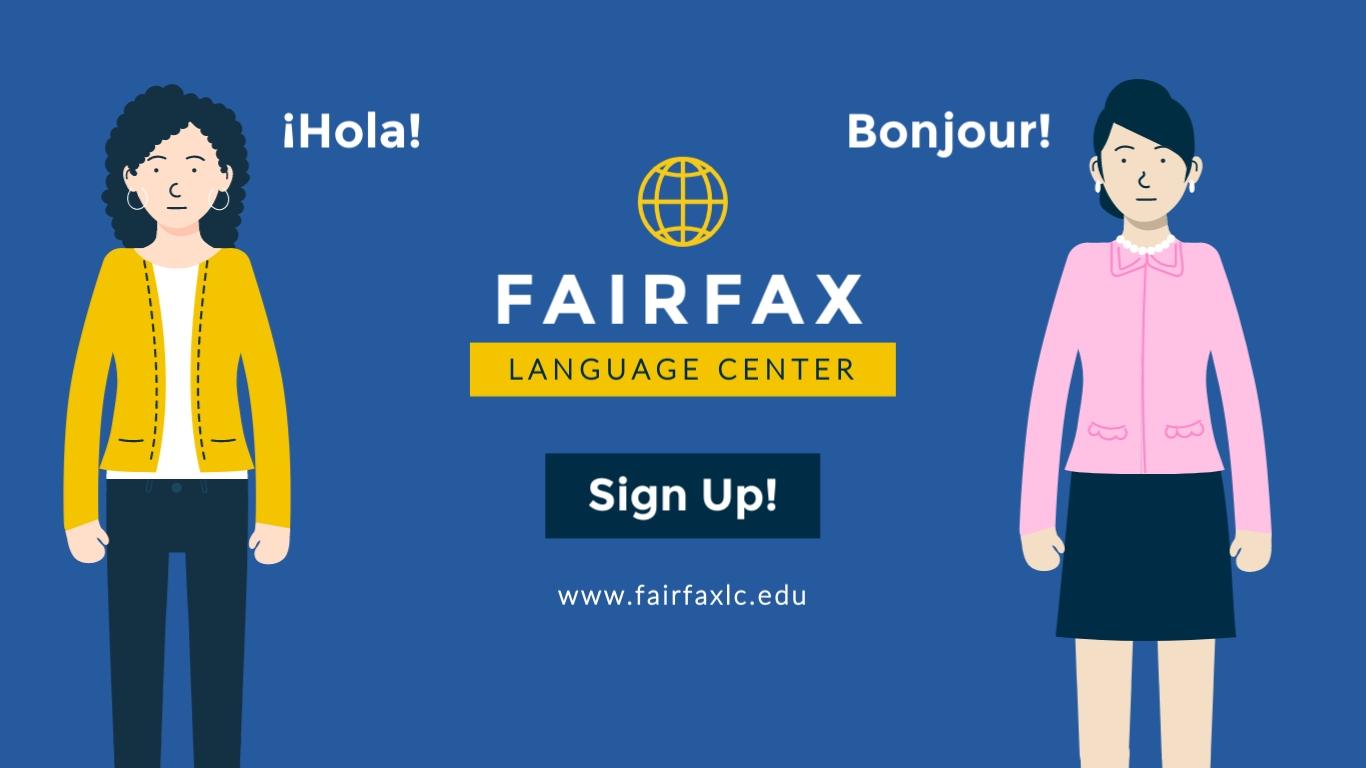 Language Center - Facebook Ad Template