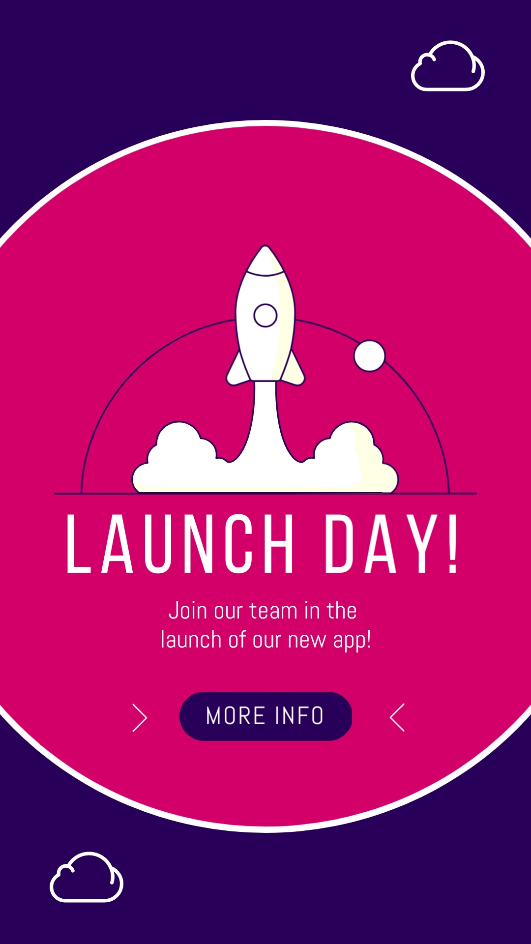 Launch Day Vertical Template