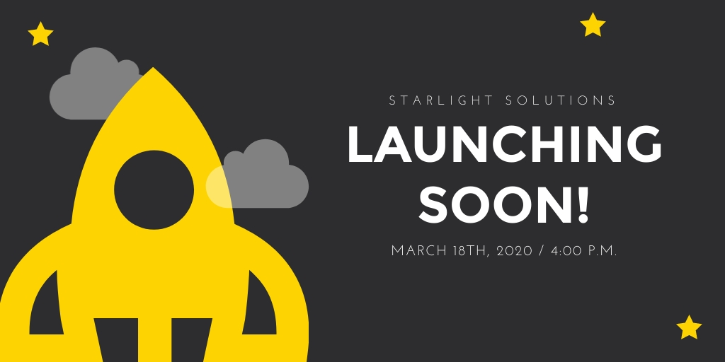 Launching Soon Twitter Ad  Template