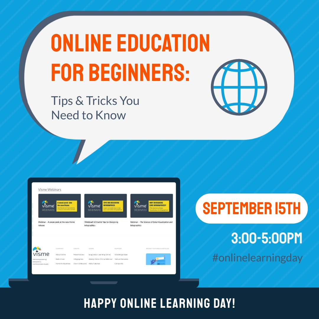 Learning Day Webinar Animated Square Template
