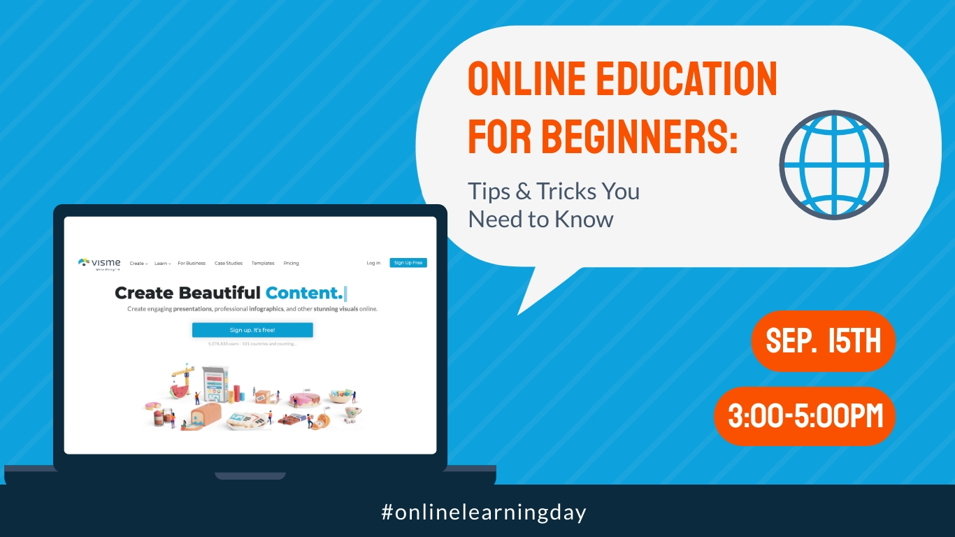 Learning Day Webinar Animated Wide Template