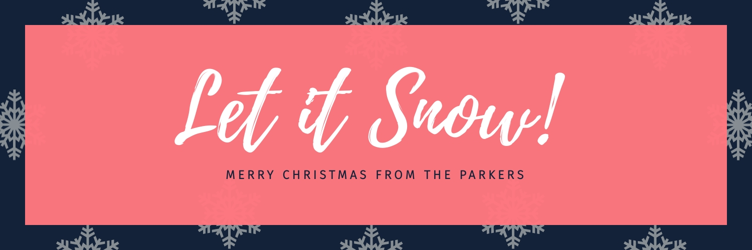 Let It Snow Twitter Header  Template
