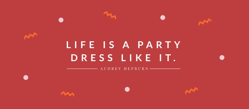 Life is a Party Facebook Page Template