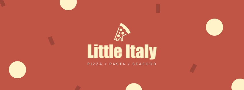 Little Italy Facebook Cover  Template
