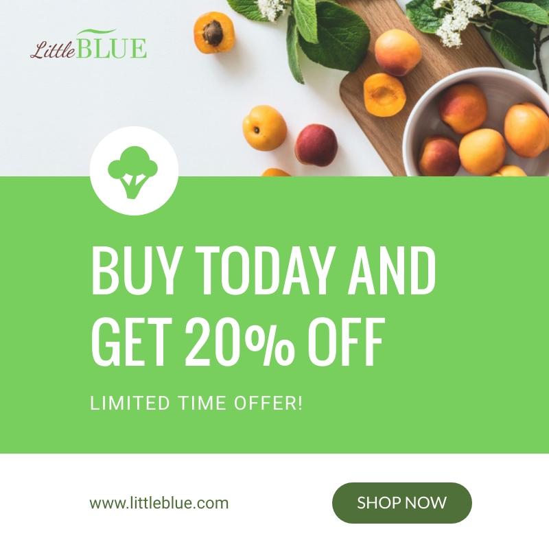 LittleBlue Discounts Blog Graphic Medium Template
