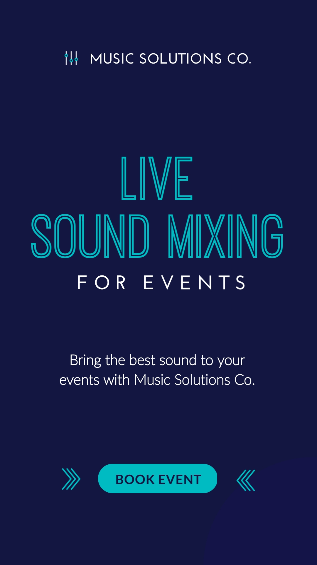 Live Sound Mixing Vertical Template