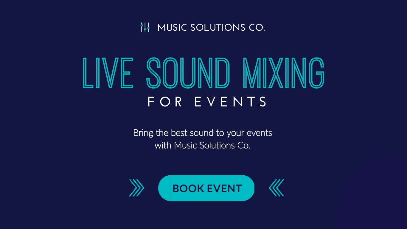 Live Sound Mixing - Twitter Ad Template